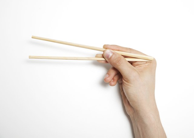 Use chopsticks.