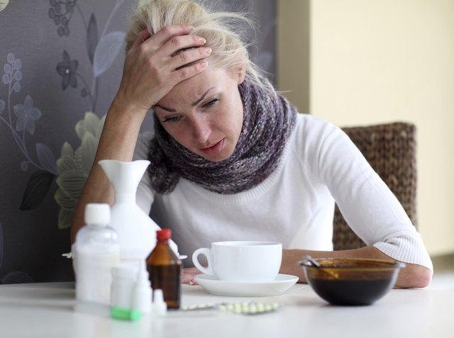 Flu-like symptoms may occur during a gouty arthritis attack.