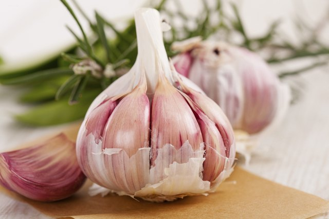 garlic and rosemary can also be anti-inflammatory