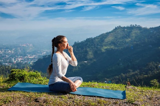 Pranayama -- breathing exercises -- can sooth anxious minds.