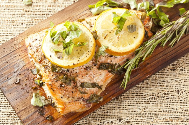 Salmon is a top choice for broiling.