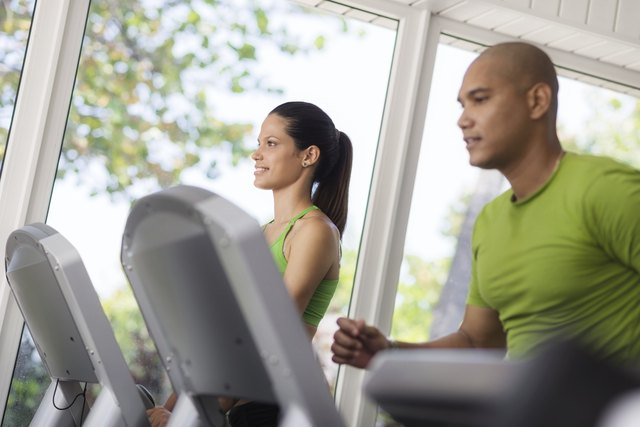 Aim to work out on the treadmill at least four to five days a week.