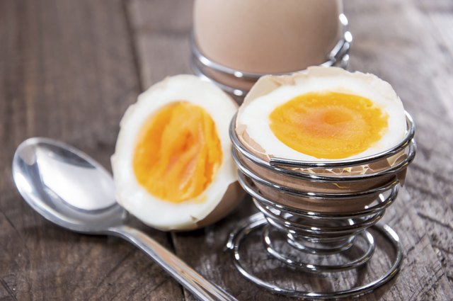 eggs are a source of both iron and B12