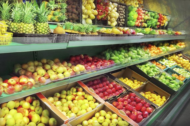 Fruits and vegetables contain vital micronutrients.