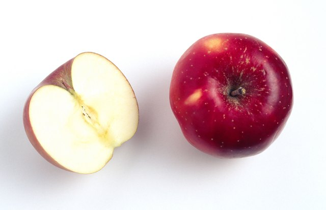 Apples are good sources of fiber.