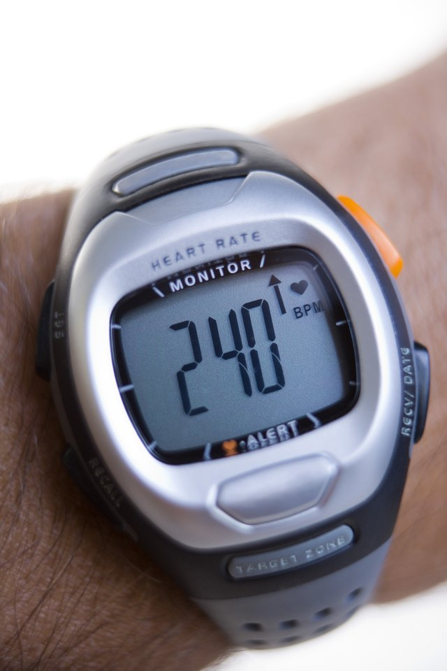Monitor your heart rate with a monitor.