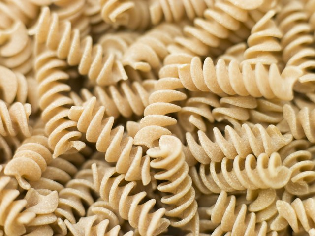 Whole wheat pasta.