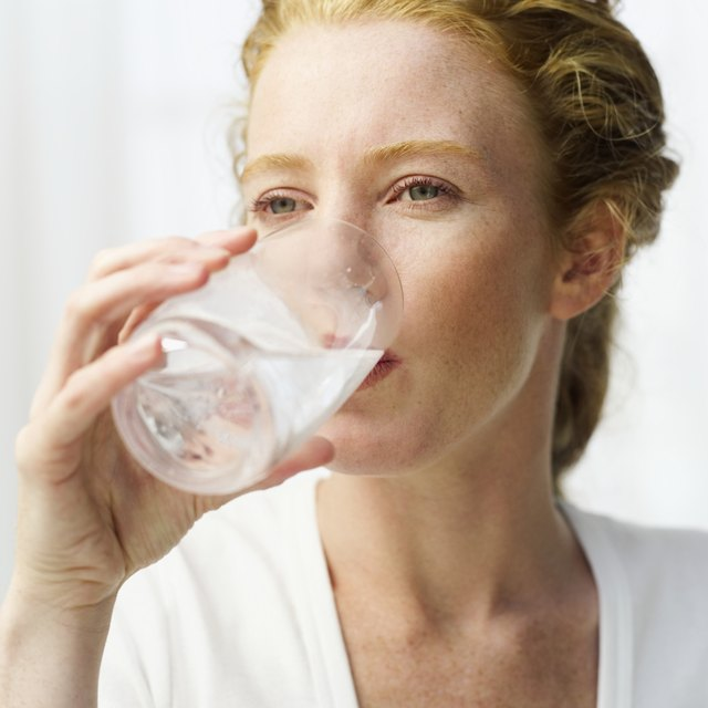 Drinking water helps lubricate the digestive tract.