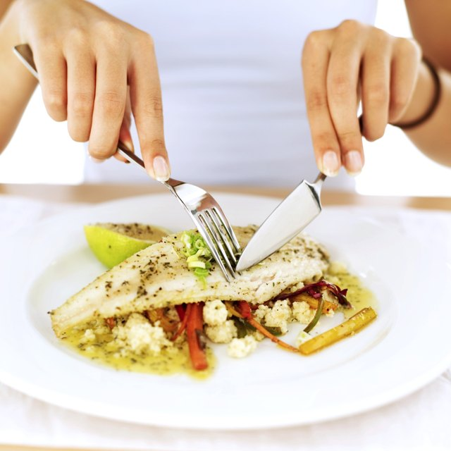 Get your fat calories from foods like nuts and fatty fish.