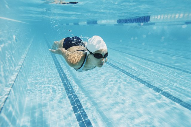 Swimming benefits all muscle groups.