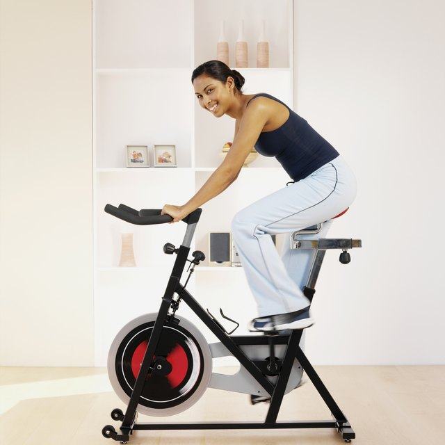Some people with back pain might prefer riding a bike, either outdoors or on a stationary bike.