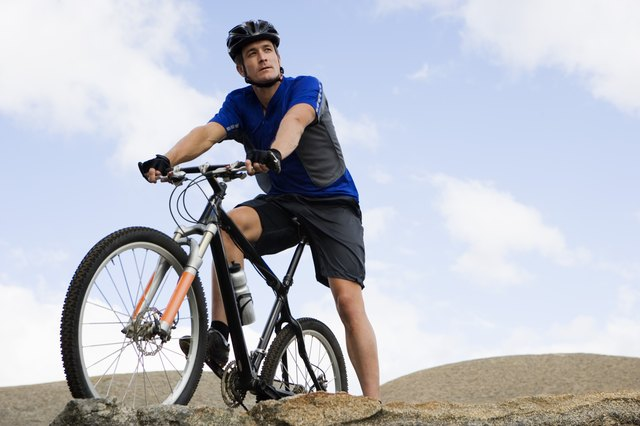 Biking offers you the ability to get in a rigorous workout or enjoy some relatively leisurely exercise.