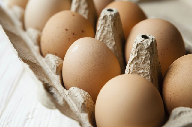 Eggs are high in protein and combat candida growth.