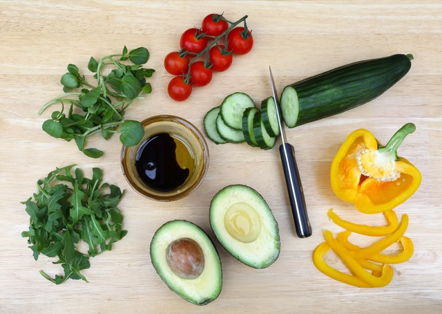 Avocado oil enhanced alpha-carotene, beta-carotene and lutein absorption from a salad by as much as 15 times compared to a salad without avocado oil.