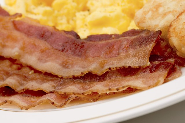 Bacon contains a quarter of your daily amount of sodium.