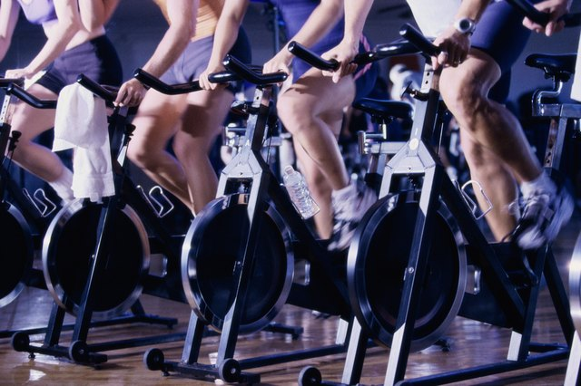 You can burn up to 826 calories in an hour on a stationary bike.