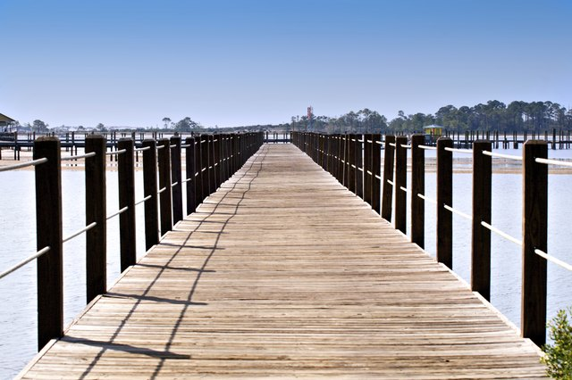 Long Pier on St. Andrew's Bay in Panama City, FL.