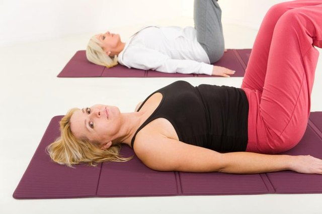 Pilates mats are thicker than yoga mats to support your spine.