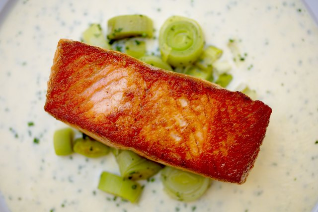 Fatty fish like salmon are a good source of vitamin D.