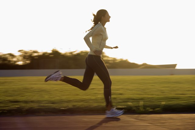 Once you start running you will only be running three times per week.