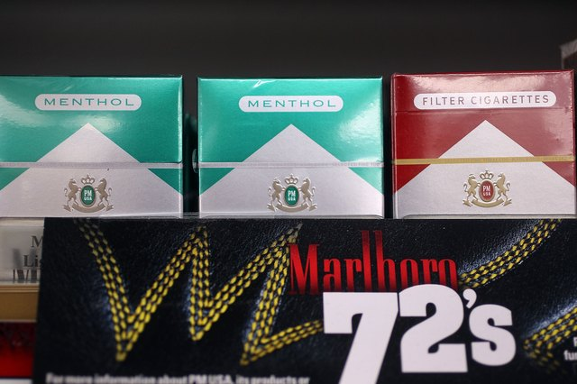 Menthol cigarettes for sale