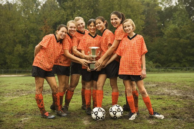 Participating in competitive youth sports burns calories and helps to prevent obesity.