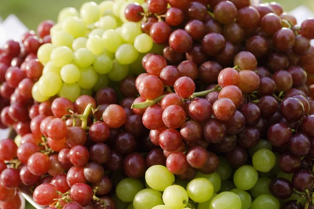 grapes are high in sugar