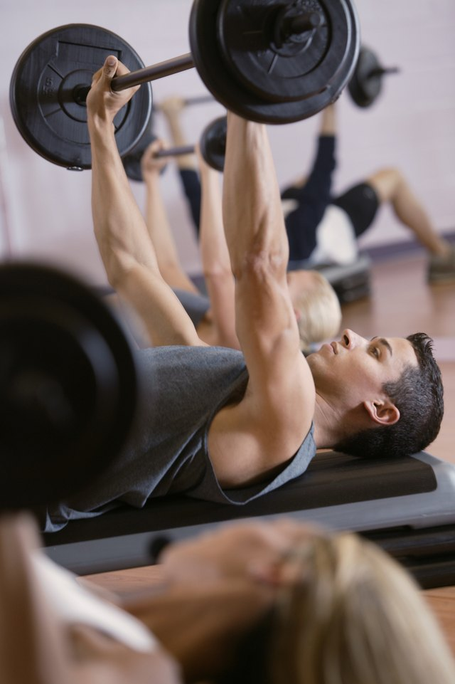 Perform strength exercises such as bench press.