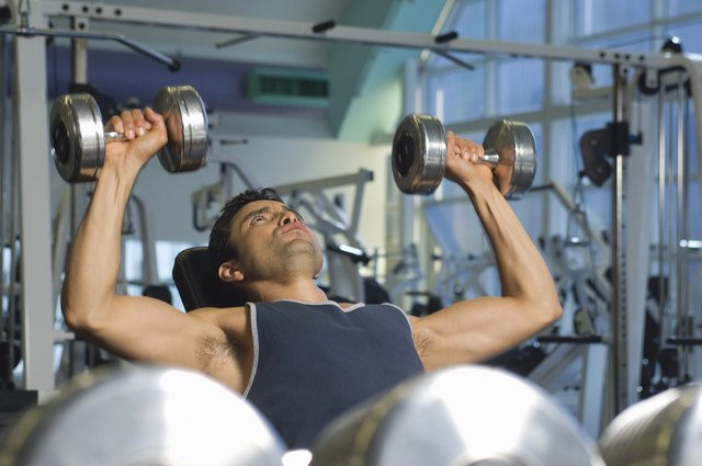 Dumbbells offer a more balanced type of workout.