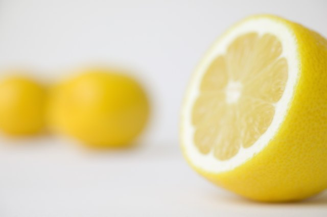 Lemons and limes are two of the top most-alkalizing foods.