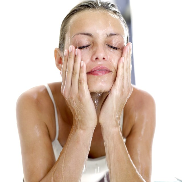 Wash face to unclog pores.