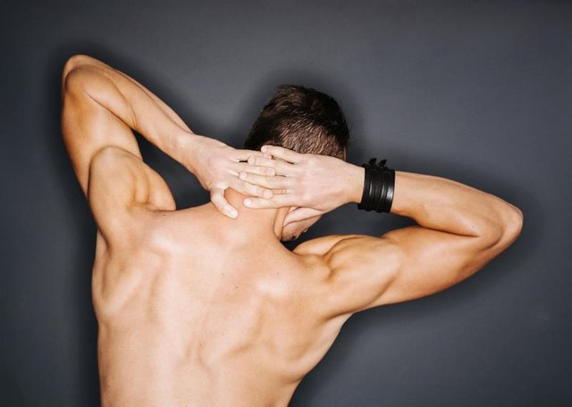 Shoulder shrugs are all about building the upper back.