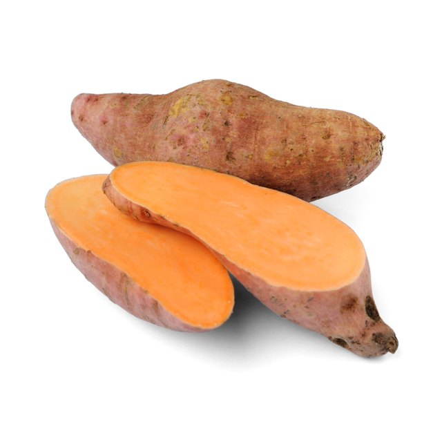 Sweet potatoes are nutritious and delicious.