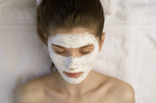 Prematue aging can be helped with yogurt masks.