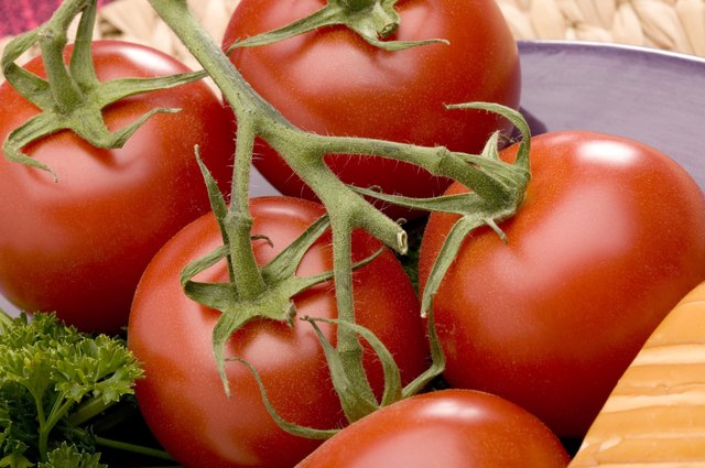 Tomatoes are a good source of vitamin c.