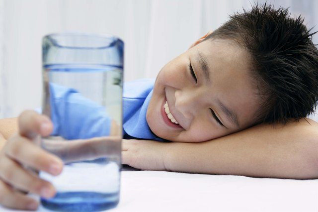 Kids need around 3 liters of water a day.
