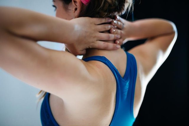 Keep your shoulders healthy with self-myofascial release.