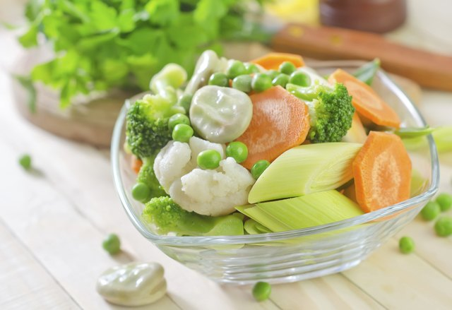 Opt for steamed vegetables.