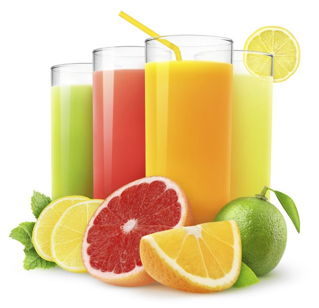 Fresh fruit juice.