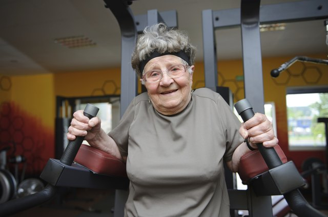 Healthy adults older than age 65 should aim for 150 minutes of moderate-intensity cardio exercise every week.