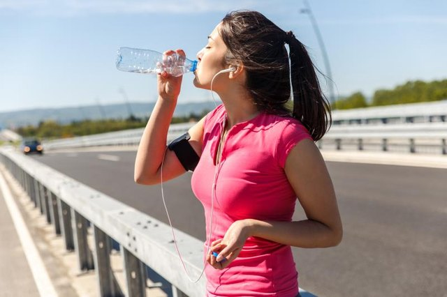 If you're working out, you need even more water!