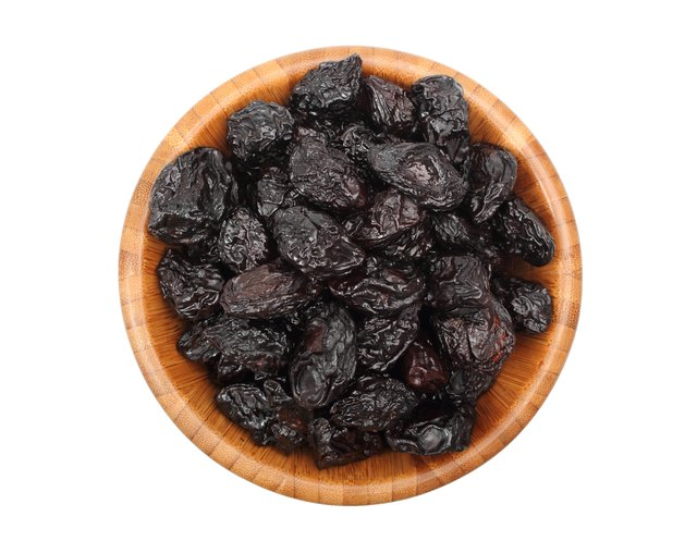 Prunes in a bowl.