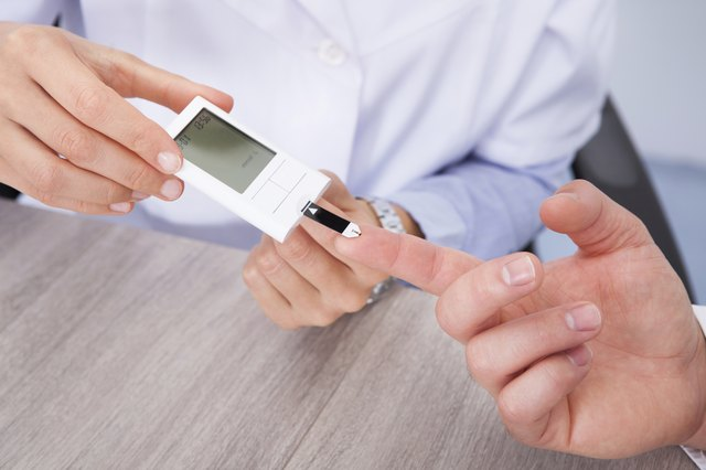 Blood glucose fluctuation in diabetics is very common.