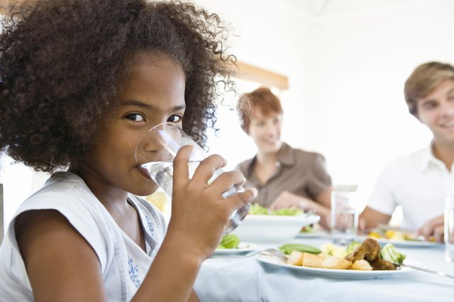 Give you child at least 4 oz. of water every hour.