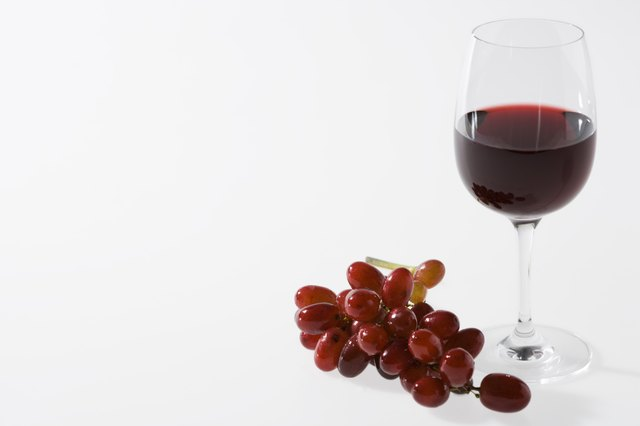 Red Wine has reservatrol, an antioxidant.