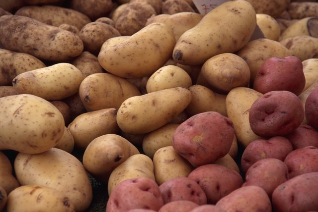 One large potato with the skin has nearly 9 grams of fiber.