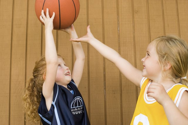 Basketball is a popular and competitive way to keep your kids active.