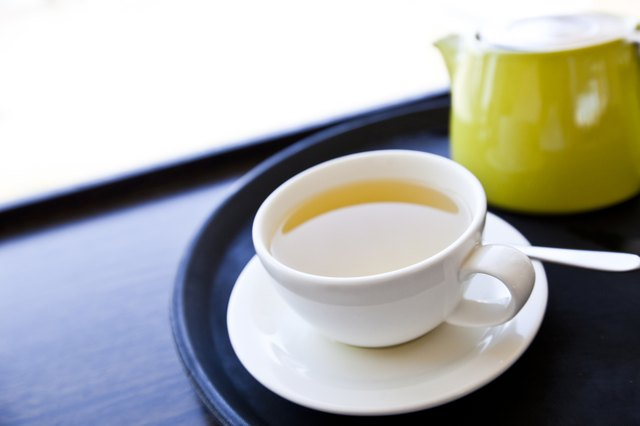 Tea gives you a healthy dose of antioxidants.