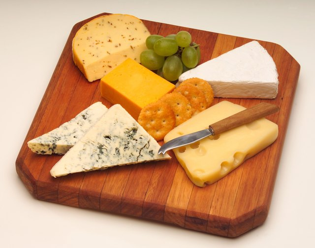 Blue cheese is lower in calcium then other dairy products.