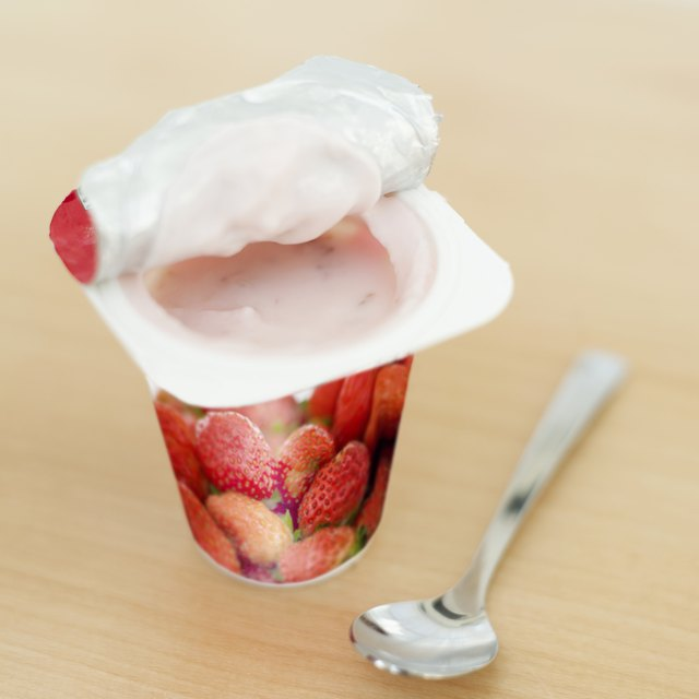 Eat fermented products like yogurt that contain good bacteria.